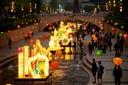 Giới trẻ háo hức chờ đón lễ hội đèn lồng khổng lồ lần đầu tiên xuất hiện tại việt Nam